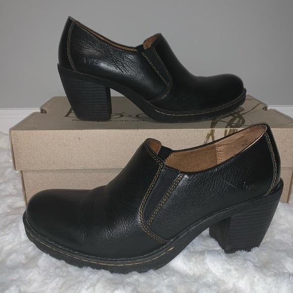 boc Shoes   Born Kimy Black Clogs Size